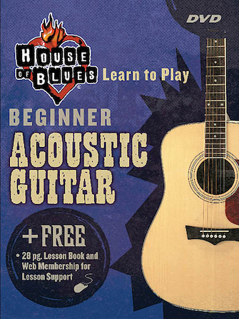 House of Blues – Beginner Acoustic Guitar
