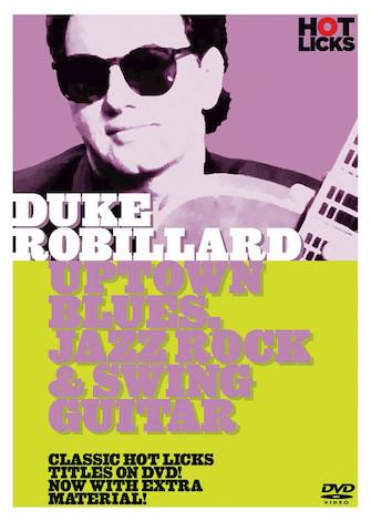 Product Cover for Duke Robillard – Uptown Blues, Jazz Rock & Swing Guitar