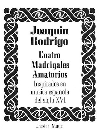Product Cover for Cuatro Madrigales Amatorios