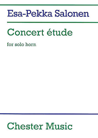 Product Cover for Concert Etude for Solo Horn