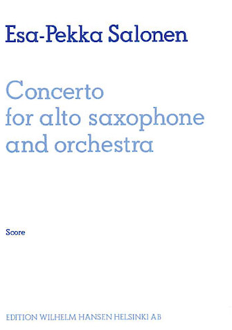 Product Cover for Concerto for Alto Saxophone and Orchestra