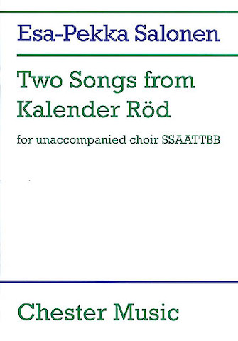 Product Cover for Two Songs from Kalender Rod