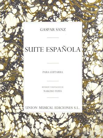 Product Cover for Gaspar Sanz: Suite Espanola