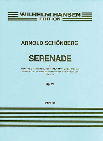 Product Cover for Serenade Op. 24