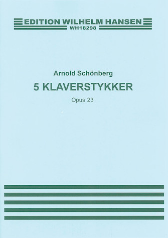 Product Cover for Arnold Schonberg: Five Piano Pieces Op.23