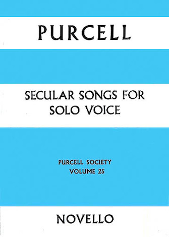 Product Cover for Secular Songs For Solo Voice