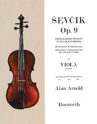 Product Cover for Sevcik for Viola – Opus 9