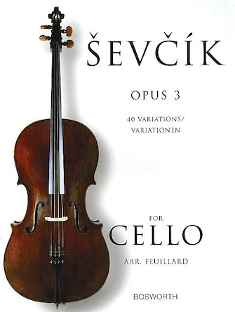 Product Cover for Sevcik for Cello – Opus 3