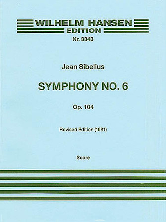 Product Cover for Symphony No. 6 Op. 104