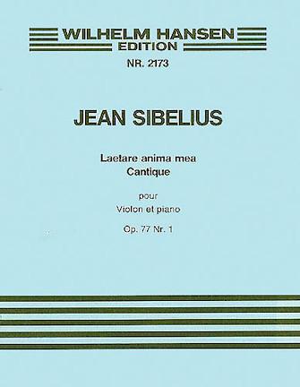 Product Cover for Jean Sibelius: Laetare Anima Mea Op.77 No.1 (Violin or Cello/Piano)