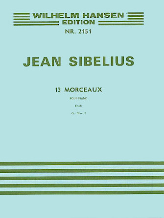 Product Cover for 13 Pieces Op. 76, No.2 – Etude