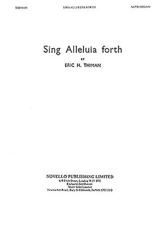 Product Cover for Sing Alleluia Forth