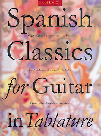 Product Cover for Spanish Classics for Guitar in Tablature