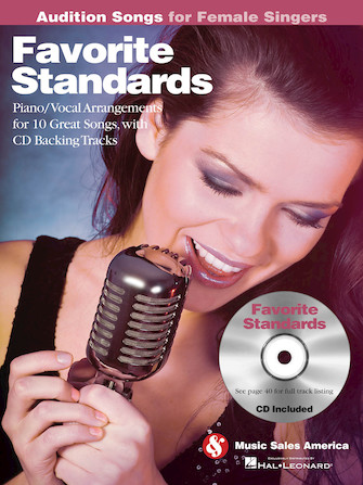 Product Cover for Favorite Standards – Audition Songs for Female Singers