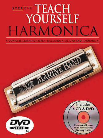 Product Cover for Step One: Teach Yourself Harmonica Course
