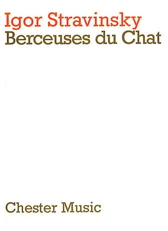 Product Cover for Igor Stravinsky: Berceuses Du Chat (Miniature Score)