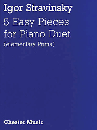 Product Cover for Igor Stravinsky: Five Easy Pieces