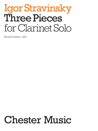 Product Cover for 3 Pieces for Clarinet Solo