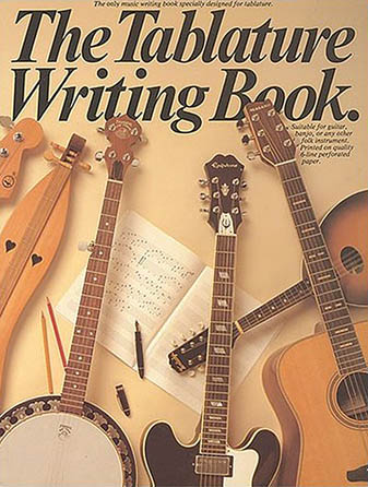 Product Cover for The Tablature Writing Book