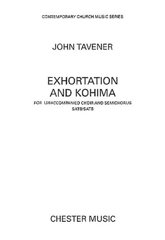 Product Cover for Exhortation and Kohima