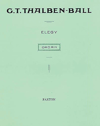 Product Cover for Elegy for Organ