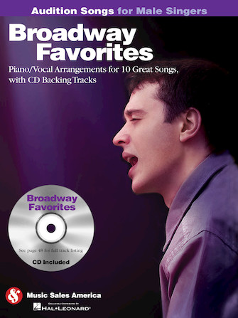 Product Cover for Broadway Favorites – Audition Songs for Male Singers