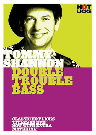 Product Cover for Tommy Shannon – Double Trouble Bass