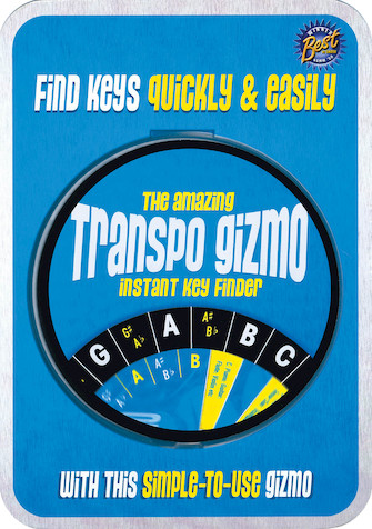 Product Cover for The Amazing Transposition Gizmo Instant Key Finder