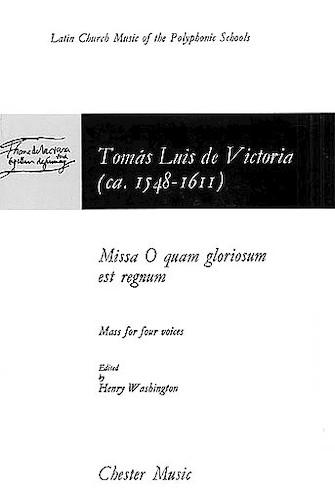 Product Cover for Missa O Quam Gloriosum Est Regnum