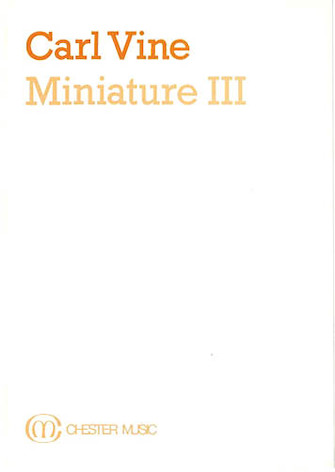 Product Cover for Miniature III