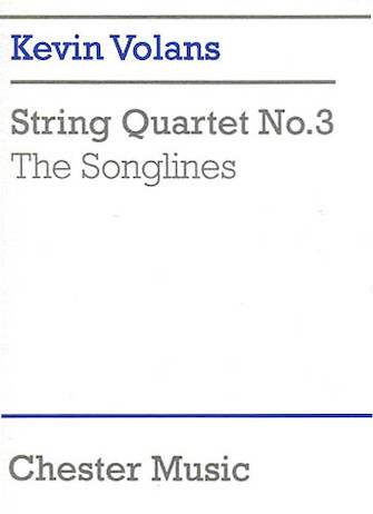 Product Cover for Kevin Volans: String Quartet No.3 'The Songlines' (Score)