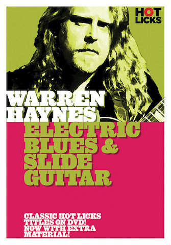 Product Cover for Warren Haynes – Electric Blues and Slide Guitar