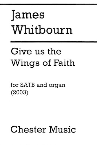 Product Cover for Give Us the Wings of Faith