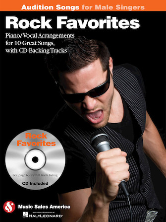 Product Cover for Rock Favorites – Audition Songs for Male Singers
