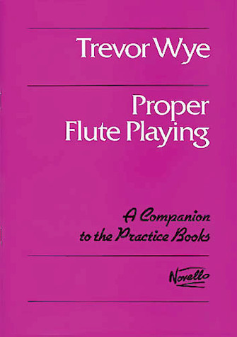 Product Cover for Proper Flute Playing