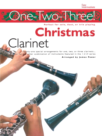 Product Cover for One-Two-Three! Christmas – Clarinet