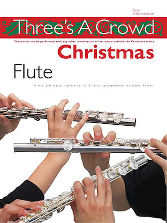 Product Cover for Three's a Crowd Christmas – Flute