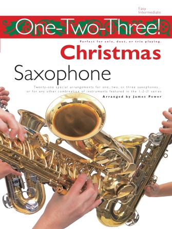 Product Cover for One-Two-Three! Christmas – Saxophone