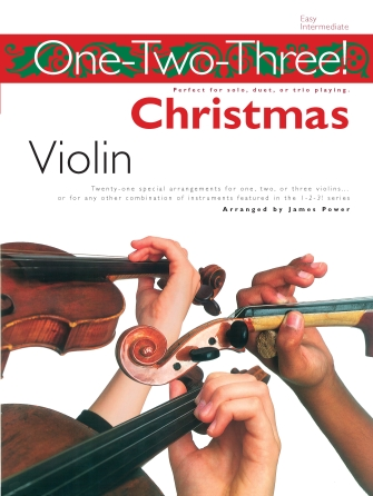Product Cover for One-Two-Three! Christmas – Violin
