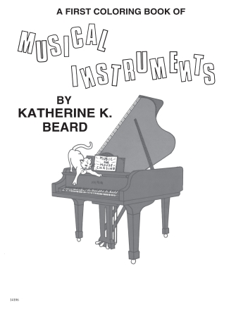 Product Cover for First Coloring Book of Musical Instruments