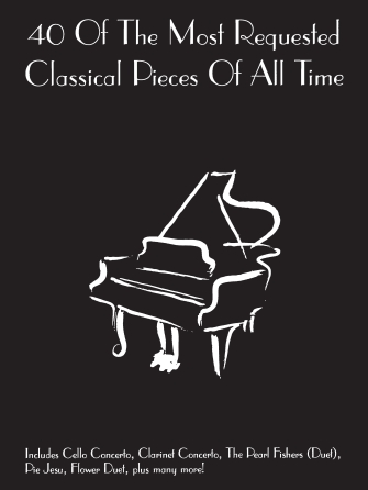Product Cover for 40 of the Most Requested Classical Pieces of All Time