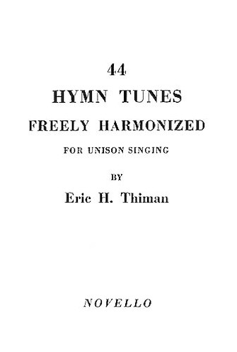 Product Cover for 44 Hymn Tunes Freely Harmonized