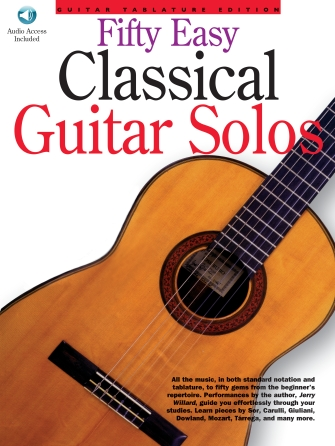 Product Cover for 50 Easy Classical Guitar Solos
