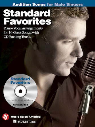 Product Cover for Standard Favorites – Audition Songs for Male Singers