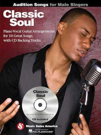 Product Cover for Classic Soul – Audition Songs for Male Singers
