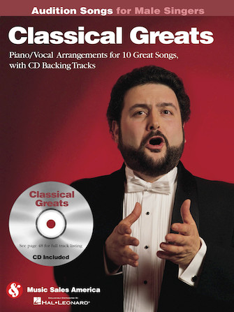 Product Cover for Classical Greats – Audition Songs for Male Singers