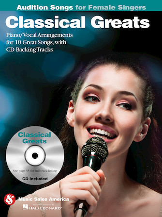 Product Cover for Classical Greats – Audition Songs for Female Singers