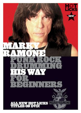 Product Cover for Marky Ramone – Punk Rock Drumming His Way for Beginners