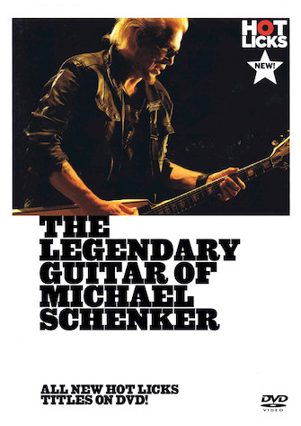 Product Cover for The Legendary Guitar of Michael Schenker