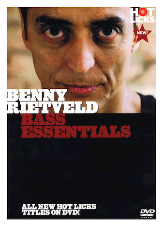 Product Cover for Bass Essentials with Benny Rietveld